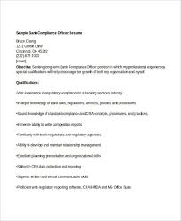 Cra Sample Resume by Free Banking Resumes 43 Free Word Pdf Documents Download