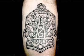 neo polytheist germanic pagan tattoos
