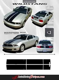 mustang all models 16 best ford mustang vinyl graphics stripes decals by
