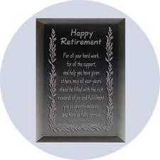 retirement plaque retirement plaque retirement gift