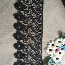 discount black lace trim for sewing 2017 black lace trim for