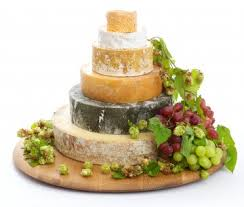 wedding cake made of cheese cheese wedding cakes from the cheeseworks