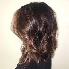 textured shoulder length hair medium length haircuts for thick hair