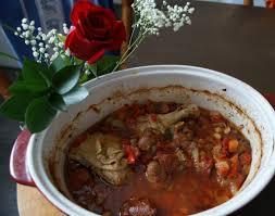 recette de cuisine de a à z poulet au pois chiche et chorizo à l espagnole hiszpański kurczak