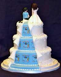 his and hers bridal his and hers wedding cakes his and hers wedding cake by mrs