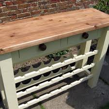 Free Standing Breakfast Bar Table Kitchen Furniture By Black Barn Crafts Kings Lynn Norfolk