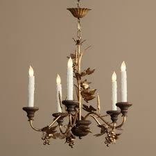 Antique Chandeliers Italian Wood And Gilded Chandelier