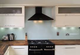 Kitchen Splashback Ideas Uk by Glass Painted Kitchen Natural Glass Splashbacks Glacier