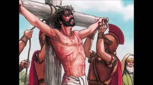 crucifixion of jesus on the cross new testament read for children