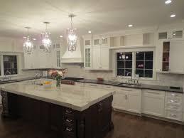 white kitchen pendant lighting decor u0026 tips astonishing kitchen island with quartzite