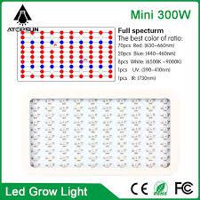 what color light do plants grow best in 2pcs mini 300w high power led grow light full spectrum led l for