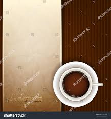 cup coffee top view stock vector 131645588 shutterstock