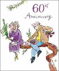 woodmansterne 60th wedding anniversary card 9303 quentin