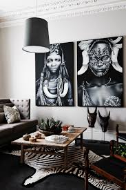 global style in black white living room living rooms