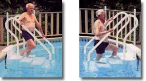 adding steps to your existing pool with bob u0027s pool service