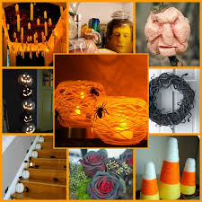 Homemade Halloween Ideas Decoration - easy fun u0026 spooky diy halloween decor ideas