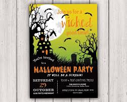 dallas halloween party halloween party invitations a wicked good time halloween
