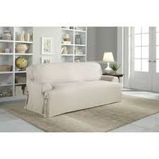 Slipcovers For Three Cushion Sofa Sofa Slipcovers You U0027ll Love Wayfair
