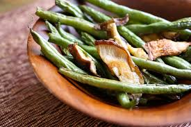 green bean thanksgiving recipes roasted garlic green beans and shiitake mushrooms u2022 steele house