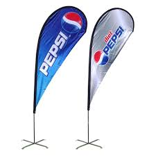 2018 90x200cm outdoor flags banenr single side flags
