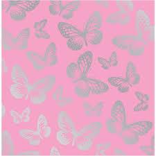fun 4 walls pink butterfly butterflie girls childrens kids