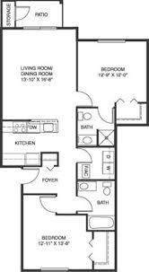 Apartments Floor Plan Heatherwood Apartments In Grand Blanc Mi Edward Rose U0026 Sons