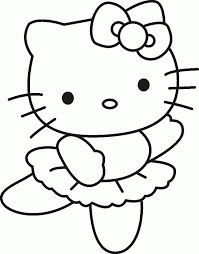 coloring pages for girls hello kitty kids ideas pinterest