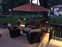 Patio Furniture Kansas City by Kansas City Deck Lighting Increases Safety And Enjoyment Outdoor