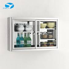 wall mounted kitchen display cabinets wall mounted stainless steel kitchen mirror cabinet with glass door buy wall mount glass display cabinets small wall mounted cabinet steel cabinet