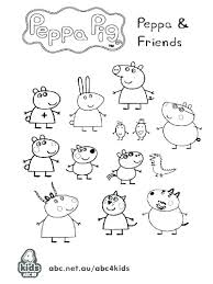peppa pig coloring pages a4 peppa pig color pages cliptext co
