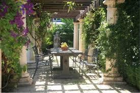 Pergola Garden Ideas Tuscan Getaway Bradanini