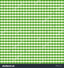 home decorating fabrics gingham check pattern green white tablecloths stock illustration