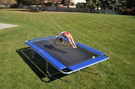 7 x 14 u0027 rectangular all american trampoline trampolines com