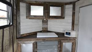 V Nose Enclosed Trailer Cabinets by R U T Phase 3 V Nose Cabinets Floor Freezer And Walls