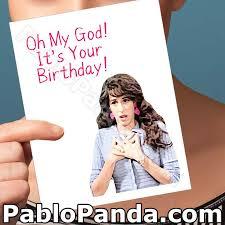 funny birthday card friends tv show boyfriend bday card