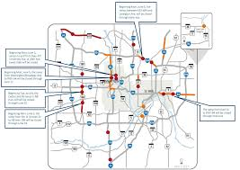 Map Of Minnesota Cities Twin Cities Weekend Road Woes Street Parties Closed Ramps Idled