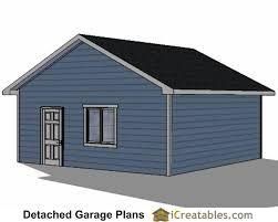 Separate Garage Plans 22x22 2 Car 2 Door Detached Garage Eve Over Door Plans