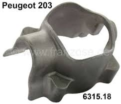 where is peugeot made p 203 gear switch lever case made of metal at the steering wheel