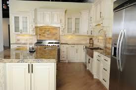 backsplash vintage white kitchen cabinets vintage kitchen
