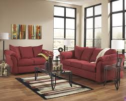 ashley living room sets darcy salsa 75001 ashley livingroom set