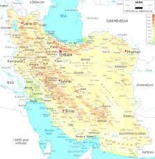 Tehran Map List Of Iranian Cities By Population Entrancing Map Iran