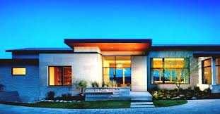 contemporary one story house plans astounding contemporary house plans single story pictures best