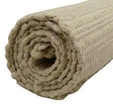 Woven Throw Rugs Recycled Solid Cotton Jute Rug Hand Woven Rag Mat Dari Floor