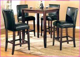 high top table and stools high top kitchen tables filho club