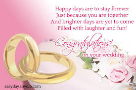wedding congrats message top wedding wishes and messages easyday