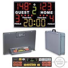 Table Basketball Favero Portable Scoreboard For Multisport Basketball Scoreboard