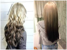 umbra hair 48 looks with reverse ombre hair color pictures 2018