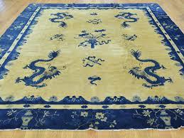Antique Chinese Rugs 8 U0027x9 U00278
