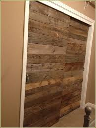 Wood Sliding Closet Door Solid Wood Bypass Closet Doors
