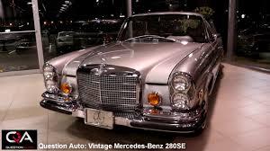 antique mercedes 1971 mercedes benz 280se luxe antique youtube